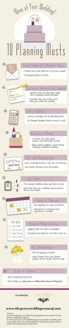 It's a great thing to come across wedding planning tips packaged so ...