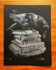 """Bury Me Beneath Books"" by Aaron Horkey"