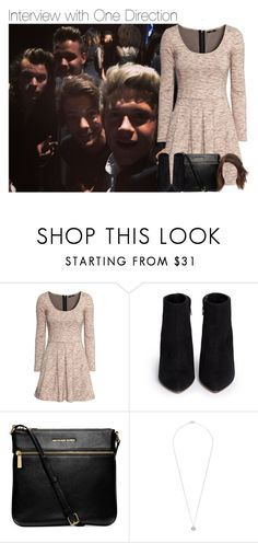"""""""Interview with One Direction"""" by hpforever00 ❤ liked on Polyvore featuring H&M, Kate Spade, Michael Kors, Ippolita, harrystyles, LiamPayne, NiallHoran, louistomlinson and OTRATour"""