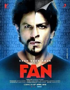 Shah Rukh Khan's new release Fan is a relief from the conventional double role Bollywood flicks. Bollywood Stars, Hindi Bollywood Movies, Telugu Movies, Bollywood Celebrities, Bollywood Actress, Srk Movies, Movie Songs, Good Movies, Movie Film