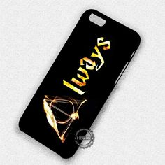 Always Deathly Hallows Harry Potter - iPhone 7 6s 5c 4s SE Cases & Covers