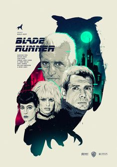'Blade Runner' prints by Jeff Poitiers for French Paper Art Club Sci Fi Movies, Good Movies, Blade Runner Art, Sean Young, Movie Archive, Tv, Pop Culture Art, Alternative Movie Posters, Movie Poster Art