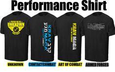 Krav Maga Performance T Shirts