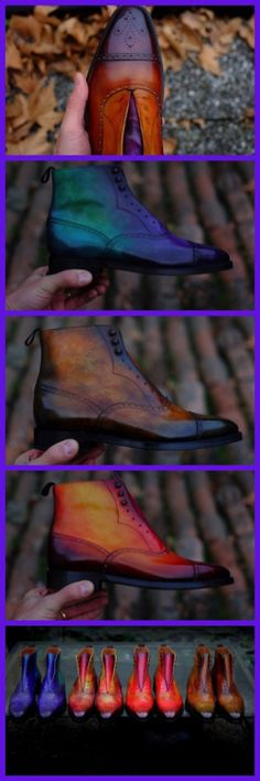 http://chicerman.com  dandyshoecare:  Alexander Nurulaeff-Dandy Shoe Care in exclusive for J.FitzPatrick Footwear.  You can order the boots of your dreams right now:  http://ift.tt/1T8SSyu  #menshoes