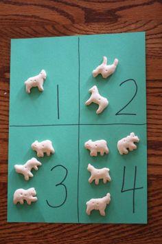 Animal Cracker Preschool Craft