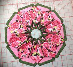 Fold n stitch bloom