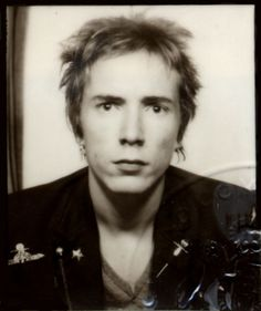 John Rotten Passport Pic, 1977 - John Lydon