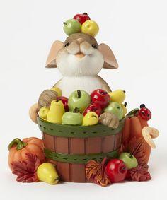Look what I found on #zulily! Bushels of Apples Figurine #zulilyfinds