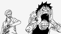 Zoro understands Luffy.