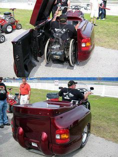 Boss Hoss for those in wheelchairs!