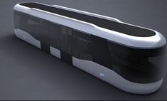 computer controlled Future Tram-- double deck this design, also allow width extension..