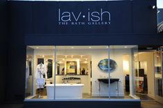 lav•ish-The Bath Gallery on Girard Avenue. Luxury kitchen and bath fittings.