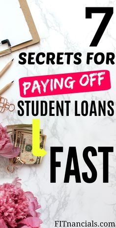 Ways To Pay Off Student Loans Fast Check out this list on how to pay off student loans quick.Check out this list on how to pay off student loans quick. Student Loan Payment, Private Student Loan, Paying Off Student Loans, College Loans, Scholarships For College, School Loans, College Students, Dave Ramsey, Best Payday Loans