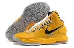 Nike Zoom KD V Yellow Black Grey