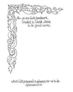 FREE Coloring Printable Page 8x10 download and color as you read and reflect on Bible God's Word Journal Scripture Devotional by: anne harb