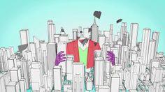 Video animado en Cinema 4D y rendereado con sketch toon, compuesto en After Effects Cs6. Música animación y composición hecha por mi.