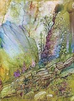 A demonstration of alcohol inks by artist Carol Ann Rasmussen will highlight a meeting of the Delta Fine Arts group at 2 p. Monday at the AppleShed, 250 S. Alcohol Ink Glass, Alcohol Ink Crafts, Alcohol Ink Painting, Original Paintings, Ink Paintings, Art Techniques, New Art, Carol Ann, Drawings