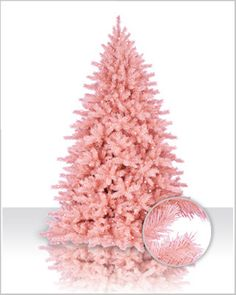 Our pink Christmas trees are perfect for adding charm, style and sass to your Christmas decor. Find a pink artificial Christmas tree for your home today! Christmas Tree 6 Foot, Spruce Christmas Tree, Colorful Christmas Tree, A Christmas Story, Xmas Tree, White Christmas, Merry Christmas, Preppy Christmas, Spruce Tree