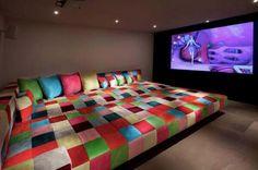 ENORME le #canapé  #salon #déco #TV #détente #sofa #bed