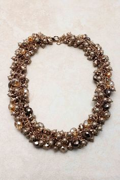 Chocolate Collier Necklace