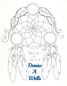 New Dream Catcher Tattoo 2016 Denise A. Wells