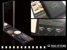 How to get Perfect Brows? Use our Professional Brow Kit! Review by: www.passievrouwen.com/beauty/?p=4238