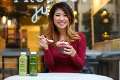 Ally Chen of FashionbyAlly stopped by Project Juice to celebrate a healthy start to 2016! Click through to read about her great day in SF.
