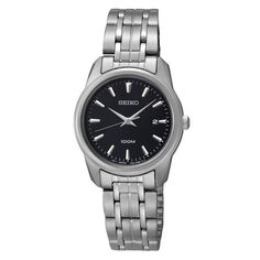 Seiko Black Dial Stainless Steel Ladies Watch SXDE65 Seiko,http://www.amazon.com/dp/B008XMZ0LQ/ref=cm_sw_r_pi_dp_m94Fsb0JBAB9XE69