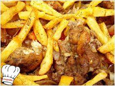 Greek Recipes, Dessert, Pot Roast, Street Food, Pork, Food And Drink, Menu, Cooking, Ethnic Recipes