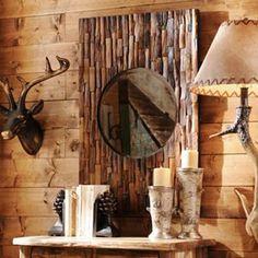 Lakewood Wooden Mirror, 24x36