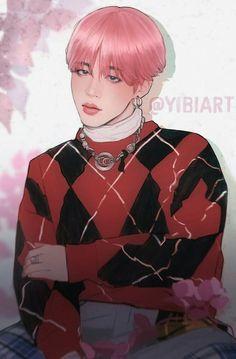 Yoonmin Fanart, Jimin Fanart, Kpop Fanart, Jimin Hot, Bts Jimin, Jikook, Busan, Korean Art, Bts Drawings