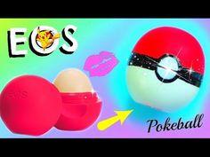 DIY POKEBALL EOS I Back to School Pokèmon Go Lipgloss selber machen I PatDIY - YouTube