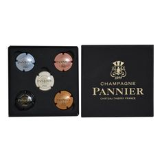 Boutique Champagne PANNIER - Coffret Plaques de Muselet