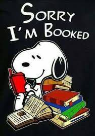 Yay books! Go Snoopy❣