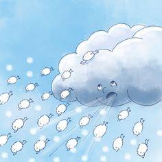 Die kleine Schneeflocke - Entspannungsgeschichte
