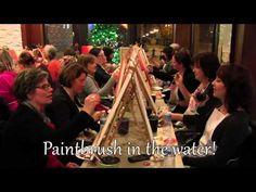 Cork N Canvas Iowa - YouTube