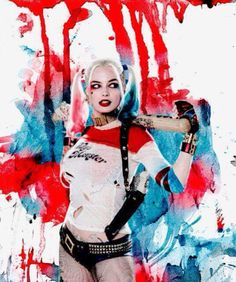 I love this photo of Harley Quinn
