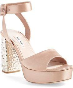 5943ea0af47c Your Queen👑 Block Heel Platform Sandals
