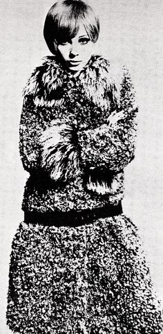 Kalgan lamb coat by Mary Quant 1965