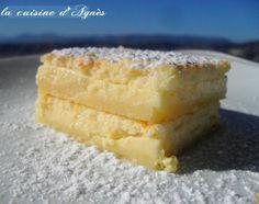 Gâteau magique au citron - Recette Ptitchef