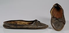 Collection | The Metropolitan Museum of Art...Shoes  Date: 1805–15  Medium: Leather