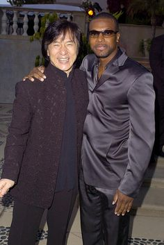 Jackie Chan & Chris Tucker-Love how they play off each other!!
