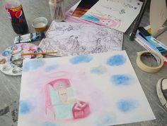 an artsy magic weekend: http://alicewonderland2.blogspot.co.uk/2016/03/marta-violette.html #lifedrawing #art