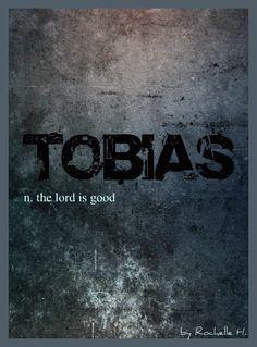 Baby Boy Name: Tobias. Meaning: The Lord is Good. Origin: English; German; Hebrew; Greek.  http://www.pinterest.com/vintagedaydream/baby-names/