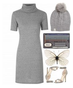 """""""Untitled #4844"""" by prettyorchid22 ❤ liked on Polyvore featuring UGG Australia, Neiman Marcus, women's clothing, women, female, woman, misses and juniors"""
