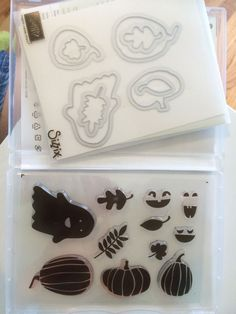 Retired Stampin' Up! Fall Fest Stamp Set & Fun Fall Framelits Dies #StampinUp