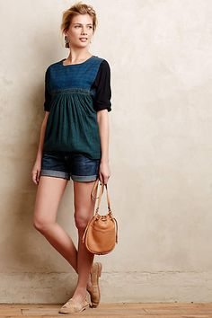 AG Hailey Roll-Up Shorts - anthropologie.com