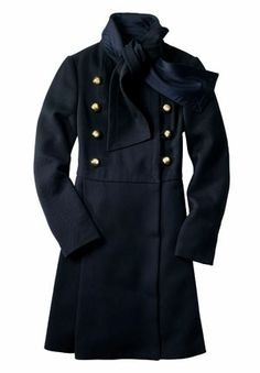 The Sash coat, by Coach.