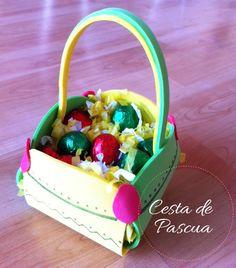Manualidades: Cómo hacer una cesta de Pascua