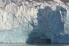 Iceberg in Spitsbergen, Norway